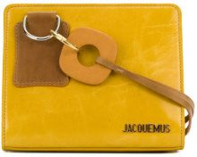Jacquemus - mini structured tote - women - Leather - OS - YELLOW & ORANGE