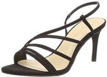 New Look Wide Foot Tetris, Scarpe col Tacco Punta Aperta Donna, Nero (Black 1), 38 EU