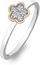 Hot Diamonds - DR136/P, Anello in argento sterling con diamante bianco, 15  7/8