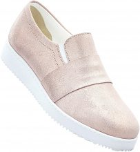 Mocassino sportivo in pelle (rosa) - RAINBOW