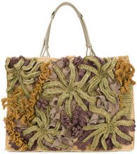 Jamin Puech - Borsa shopper - women - Raffia - OS - NUDE & NEUTRALS
