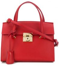 Salvatore Ferragamo - Mara top handle bag - women - Leather - OS - RED