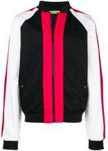 Versace Jeans - Bomber color-block - men - Cotton/Polyamide/Polyester - 50, 52 - BLACK