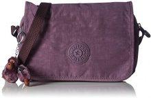KiplingDELPHIN N - Borsa a Tracolla Donna, Viola (Violett (Violet Shades 10S)), One Size
