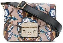 Furla - Metropolis crossbody - women - Leather - OS - Marrone