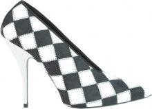 Scarpe decolletè a scacchi