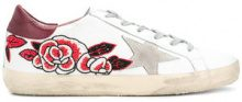 Golden Goose Deluxe Brand - Sneakers 'Superstar' - women - Cotton/Calf Leather/rubber - 36, 37, 38, 39, 40, 35 - MULTICOLOUR