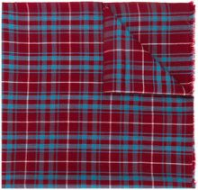 Isabel Marant - Sciarpa tartan - women - Wool - One Size - RED