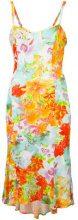 Versace Vintage - floral print dress - women - Spandex/Elastane/Viscose - 42 - MULTICOLOUR