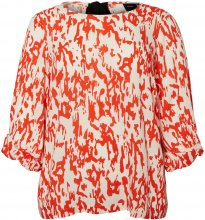 JUNAROSE Printed Blouse Women Red