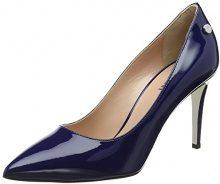 Pollini W.Shoe, Scarpe con Tacco Donna, Blu (Oceano 753), 40 EU