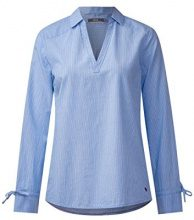 Cecil 340764, Blusa Donna, Blu (Indigo Light Blue 21247), M