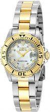 Invicta 6895 Pro Diver Orologio da Donna acciaio inossidabile Quarzo quadrante bianca
