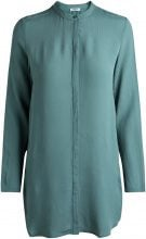 PIECES Long Shirt Women Green