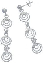 E-11753 - Orecchino da donna, argento sterling 925