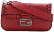 Fendi - Borsa 'Baguette' - women - Leather/Brass - One Size - RED