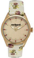 Cacharel CLD 012/1XX - Orologio da polso donna, pelle, colore: beige