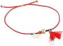 Un Jour Mon Prince E15B53OR3018 - Bracciale di cordone, 18 cm