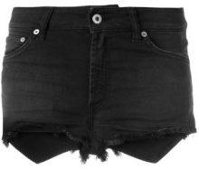 Dondup - Shorts denim - women - Cotone/Spandex/Elastane - 25, 26, 29 - Nero