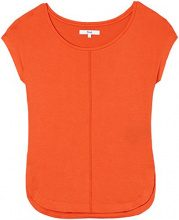 FIND Center Stitch Seam Maglietta Donna, Arancio (Orange), 44 (Taglia Produttore: Medium)