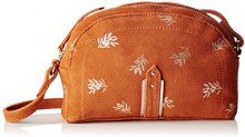 Petite Mendigote Alix Printed - Borse a tracolla Donna, Orange (Ginger), 4x13.5x19 cm (W x H L)