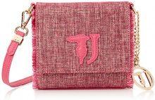 Trussardi Jeans Ischia, Borsa a Tracolla Donna, Rosa (Fuxia), 16.5x16.5x6.5 cm