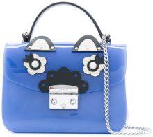 Furla - mini Metropolis cross body bag - women - plastic - OS - BLUE