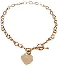 Orphelia PK-030 - Collana da donna, metallo placcato oro, 450 mm
