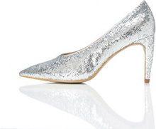 FIND Décolleté Glitterate Donna, Argento (Silver), 37 EU