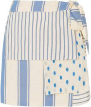 Dodo Bar Or - Gonna a portafoglio 'Jasmin' - women - Cotton - S - BLUE