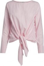 PIECES Striped Long Sleeved Blouse Women Pink