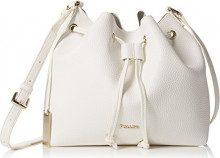 Pollini Bag - Borse a spalla Donna, Bianco, 13x24x31 cm (B x H T)
