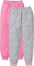 Pantalone per pigiama (pacco da 2) (rosa) - RAINBOW