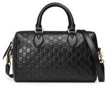 Gucci - Borsa 'Gucci Signature' - women - Leather/metal/Microfibre - OS - Nero