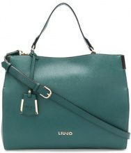Liu Jo - Isola top closure tote bag - women - PVC/Polyester - OS - GREEN