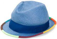 Paul Smith - Cappello intrecciato - men - Cellulose - M - BLUE