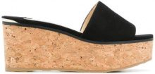 Jimmy Choo - Deedee 80 mules - women - Goat Skin/rubber - 36, 36.5, 37, 37.5, 38, 38.5, 39, 39.5, 40, 41 - Nero