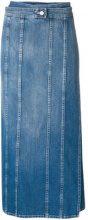 Mm6 Maison Margiela - Gonna midi - women - Cotton/Polyester - 36, 38, 40, 42, 44 - BLUE