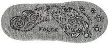 Falke Ballerina Homepads, Calzini alla Caviglia Donna, Grau (Light Greymeliert 3390), 39^40