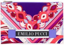 - Emilio Pucci - abstract print flat clutch - women - Polyester/viscose/Polyamide/Calf Leather - Taglia Unica - Rosa & viola