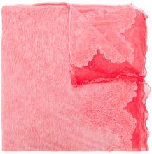 Ermanno Scervino - Sciarpa - women - Cotone/Wool/Polyamide - OS - PINK & PURPLE