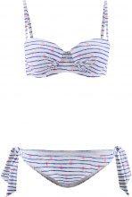 Bikini con ferretto (Blu) - BODYFLIRT