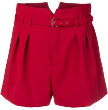 Red Valentino - loose fitted shorts - women - Polyester/Viscose/Spandex/Elastane/Acetate - 38, 40, 42 - RED
