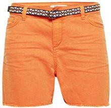 edc by Esprit 068cc1c013, Pantaloncini Donna, Arancione (Red Orange 825), 46 (Taglia Produttore: 40)