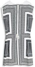 ESPRIT Collection 057EO1E013, Vestito Donna, Bianco (Off White), 38