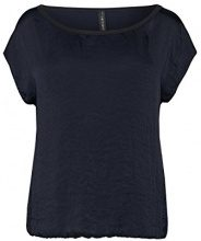 Marc Cain Essentials MarcCainDamenTops+E6196W87, Top Donna, Blau (Midnight Blue 395), 46 (7)