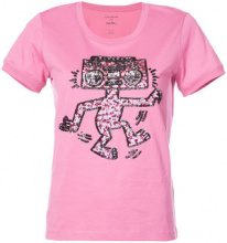 Coach - X Keith Haring embellished T-shirt - women - Cotone - XS, S - unavailable