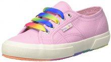 Superga 2750-COTW Multicolors Outsole, Sneaker Donna, Pink Lavender, 35 EU