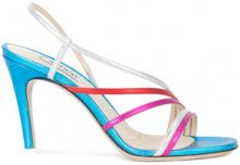 Attico - strappy sandals - women - Leather - 35, 36.5, 37, 37.5, 38, 38.5, 39, 39.5 - Blu