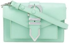 Versus - Borsa con fibbia iconica - women - Calf Leather - OS - GREEN